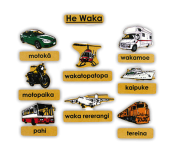 He Waka Magnetic Pieces